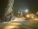Akcja GOPR w Karkonoszach. Turyści poszli w góry i nie potrafili zejść [ZDJĘCIA]