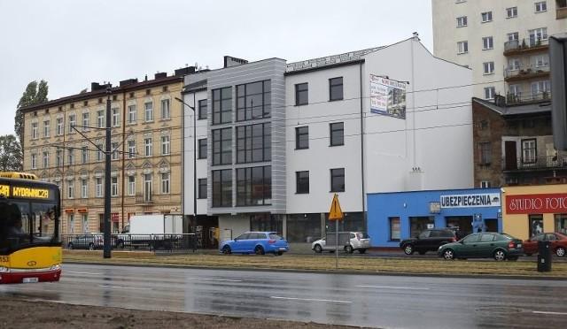 Zakończono już prace przy elewacji hotelu. Hotel przy Piłsudskiego 115