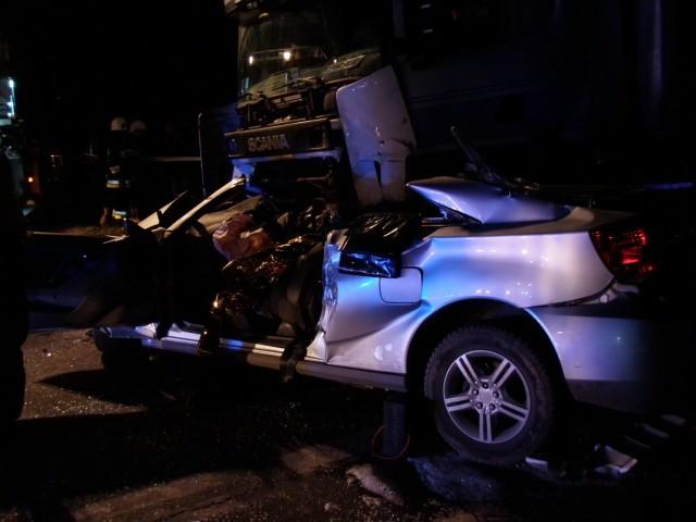W wypadku w Łopatkach zginęło dwóch mężczyzn