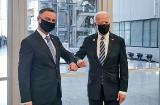 Prezydent Andrzej Duda spotkał się Joe Bidenem. Tematem rozmów bezpieczeństwo regionu i współpraca ekonomiczna