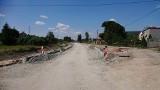 Budowa drogi Jasionka na terenach inwestycyjnych w Jędrzejowie idzie bez zastrzeżeń. Najważniejszy etap prac już zakończony (ZDJĘCIA)