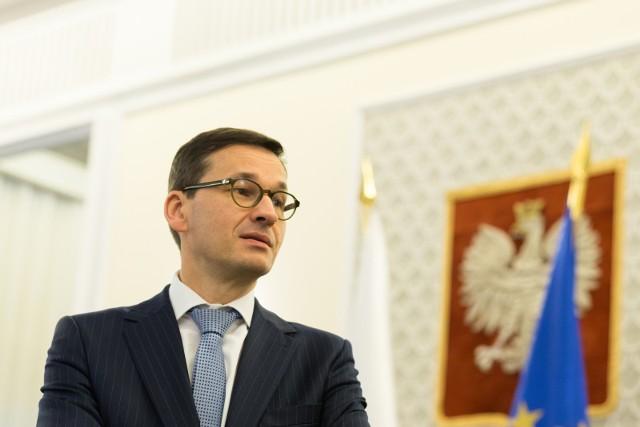 Premier Mateusz Morawiecki, posiedzenie Rady Ministrów