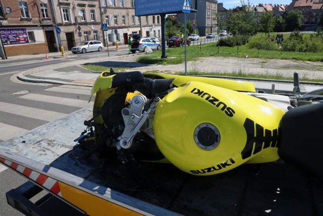 Kierowca suzuki nie zatrzymał się w Sępólnie do kontroli i zaczął uciekać przed policją. Testy wykazały w jego organizmie amfetaminę