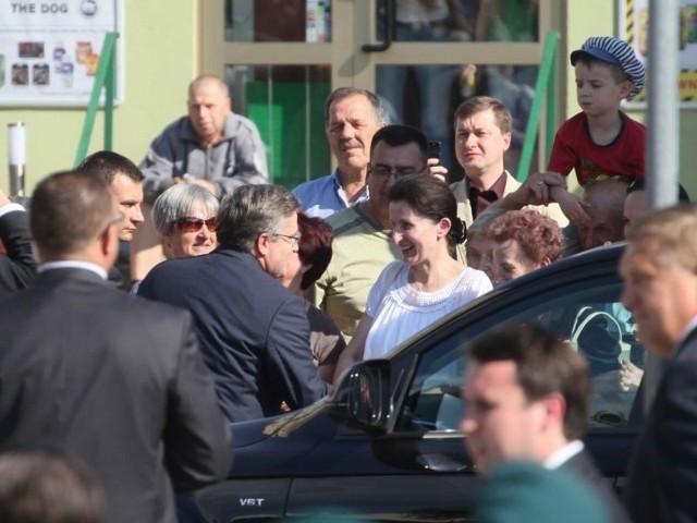 Prezydent Komorowski w BialymstokuPrezydent Komorowski w Bialymstoku