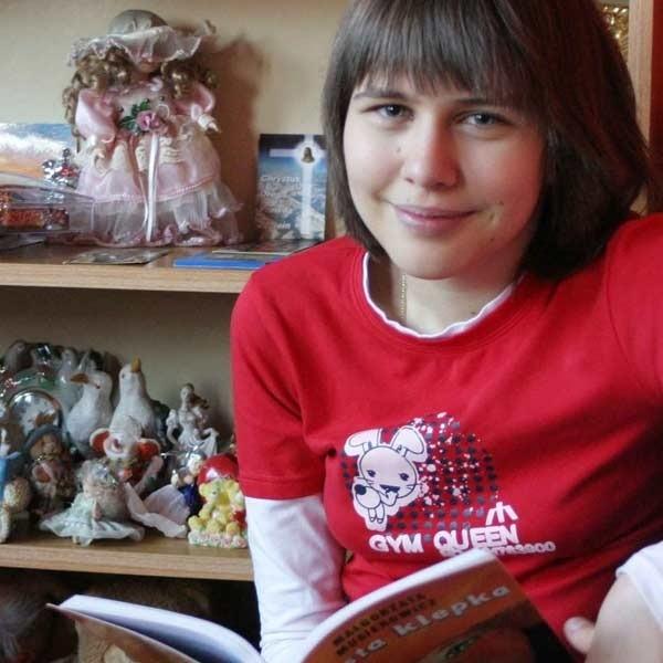 U 14-letniej Marceliny Wójciak z Blażowej dość wcześnie wykryto mukowiscyzdozę. Nastolatka stale jest pod opieką lekarza.