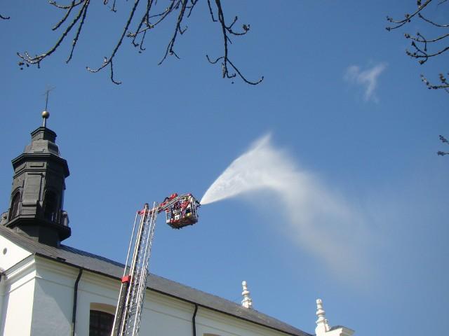 Ćwiczenia strażaków ochotników z Gminy Boćki