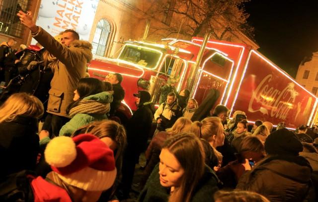 Świąteczna trasa Coca-Coli w Polsce