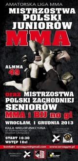 W niedzielę we Wrocławiu mistrzostwa MMA
