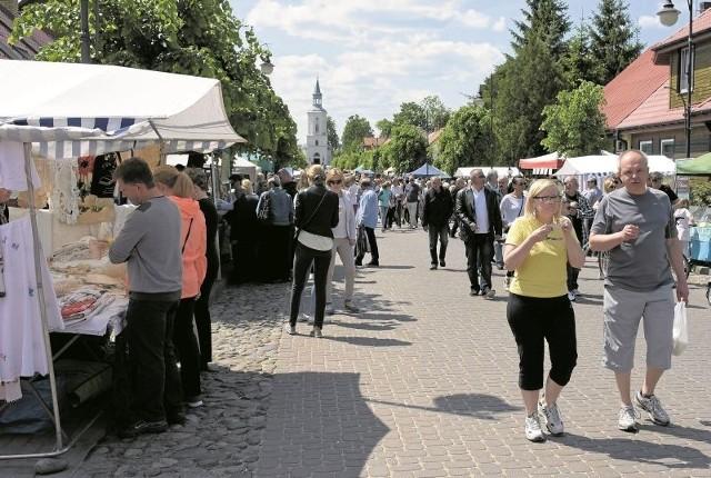 Tłumy odwiedziły w weekend Supraśl, gdzie w ramach kolejnej edycji Uroczyska trwał kiermasz regionalnych produktów