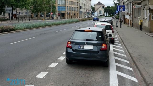 ZDM kilkakrotnie sprawdzał na miejscu jak zachowują się kierowcy i okazało się, że wszystkie auta były zostawiane zgodnie z nowymi zasadami.