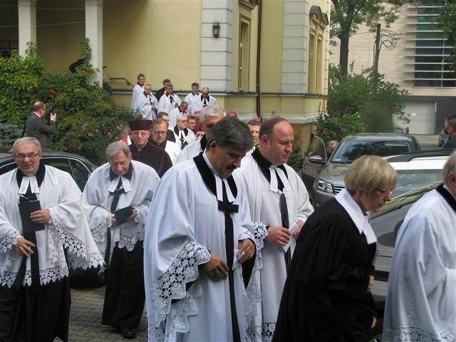 Ks. Marian Niemiec stoi na czele diecezji katowickiej Kościoła ewangelickiego.