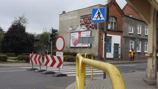 Ulica Toruńska i Zamkowa zostały zamknięte dla ruchu.