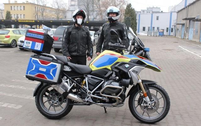 Toruń ma pierwszy w mieście motoambulans