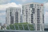 Sokolska 30 Towers z pozwoleniem na użytkowanie. Klucze dla lokatorów jesienią 2021. To dwa apartamentowce w centrum Katowic firmy Atal