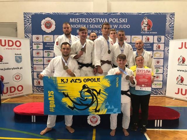 Judocy AZS-u Opole mieli bardzo dużo powodów do radości po mistrzostwach Polski w Rybniku.