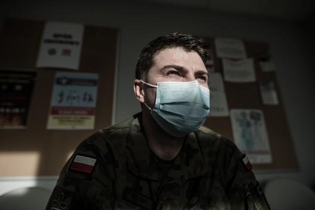 kpr. Łukasz Kałużny - 12 Wielkopolska Brygada Obrony Terytorialnej