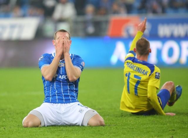 Paweł Tomczyk nie tak wyobrażał sobie 2020 roku. Strzelił w nim tylko jednego gola w PKO Ekstraklasie.