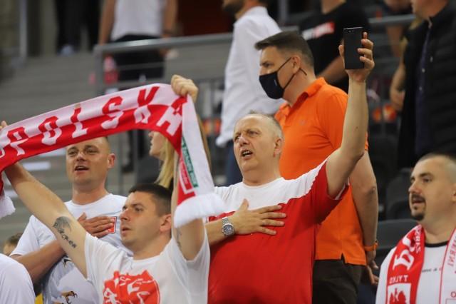 12.06.2021. Energa Cup: Polska - Meksyk w Arenie Gliwice.  Zobacz kolejne zdjęcia. Przesuwaj zdjęcia w prawo - naciśnij strzałkę lub przycisk NASTĘPNE