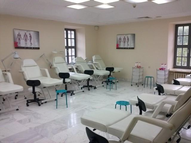 Sala kosmetyczno- masażowa oddział Lublin