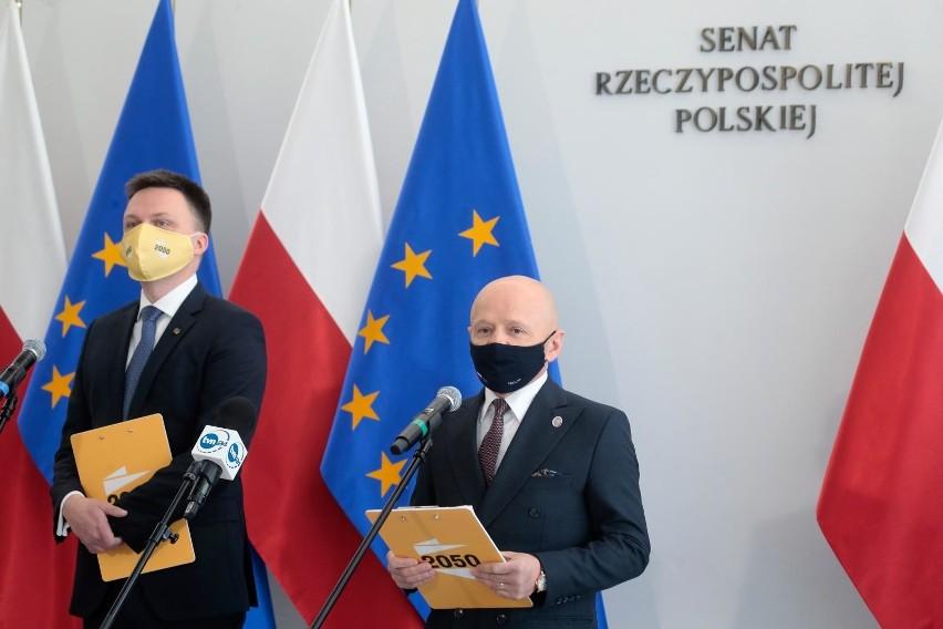 Senator Jacek Bury przechodzi do ruchu Polska 2050 Szymona...