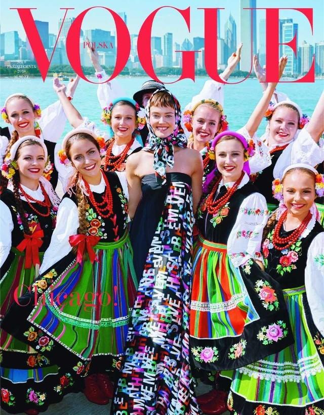 Okładka październikowego numeru Vogue Polska