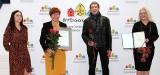Nagrodzeni za rozmowy z Bydgoskimi Legendami Miesiąca, wyróżnieni za Festiwal Panien Wodnych
