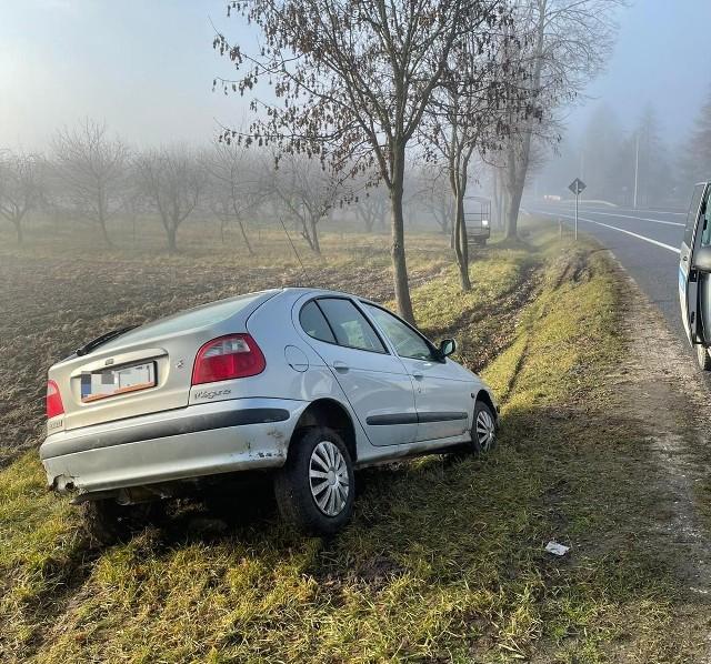 Kierowca renault miał 1,8 promila alkoholu w organizmie