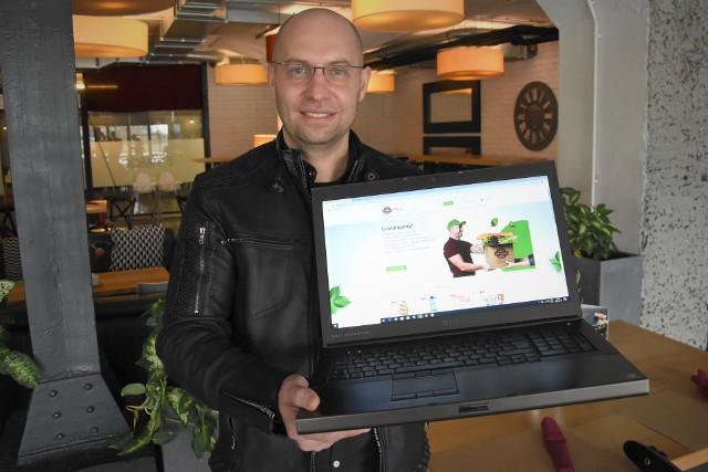 - Wierzę, że zakupy do domu bez stania w kolejkach przekonają Opolan - mówił Rafał Galla, właściciel sklepu Galiano.pl