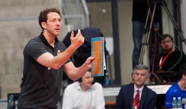 Trener Stephane Antiga ma ważny kontrakt z Developresem Rzeszów jeszcze przez dwa lata