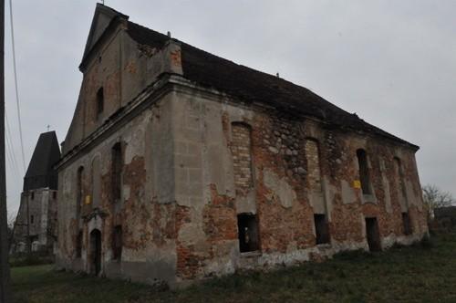 Kościoly podają w ruine  Sucha Dolna