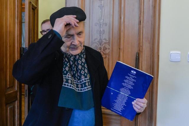 Sprawa Lecha Wałęsy i Henryka Jagielskiego po raz kolejny trafiła do sądu. Na zdjęciu H. Jagielski. Byłego prezydenta w środę 6.02.2019 r. nie było w sądzie