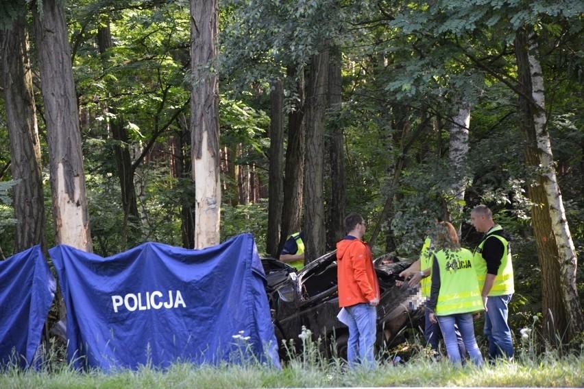 Do wypadku doszło ok. godziny 6.30. na drodze z Zielonej...