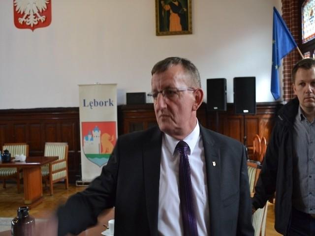Łucjan Łaga, lęborski radny