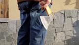 76-latek zaatakował siekierą przechodnia na ulicy w Kaliszu