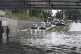 Nie jedź tamtędy w trakcie ulewy. TOP 15 najczęściej zalewanych ulic w Łodzi