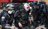 """Francja: Wielkie demonstracje i zamieszki. 1 maja w Paryżu [ZDJĘCIA] [NA ŻYWO] Żółte kamizelki i Czarny blok zapowiadają """"dzień Apokalipsy"""""""