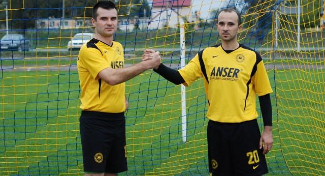 Konrad Pyszczek (z lewej) i jego brat Łukasz zostają w Klimontowie.