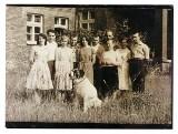 Rok szkolny w Bebelnie w gminie Włoszczowa na starych fotografiach. Poznajesz kogoś? (ZDJĘCIA)