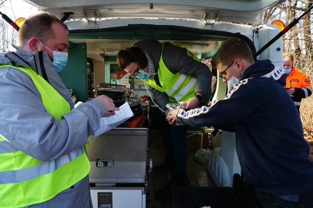 Podczas pierwszej edycji akcji rozdano 500 posiłków dla potrzebujących.
