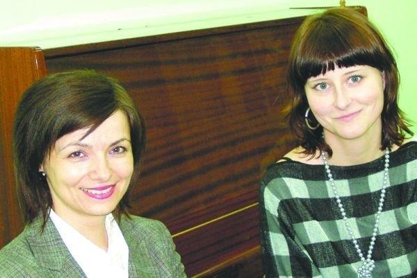 Bożena Lewczuk i Marta Gredel - nominowane do plebiscytu Hajnowianic 2008