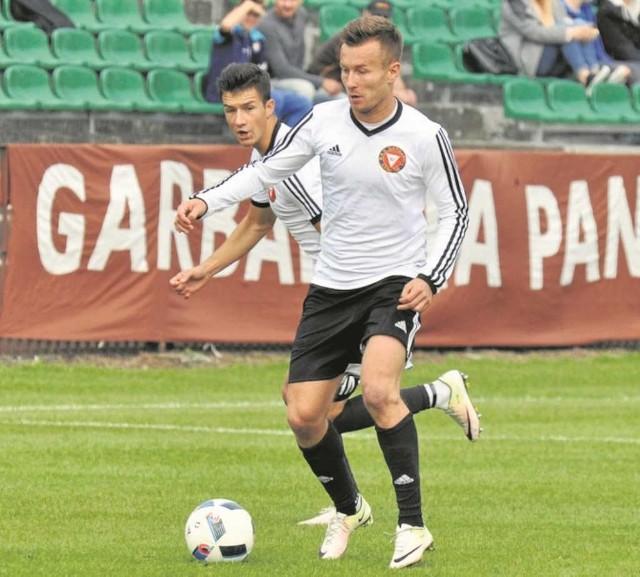 Tomasz Ogar jest najlepszym strzelcem Garbarni. Ma na koncie 4 gole