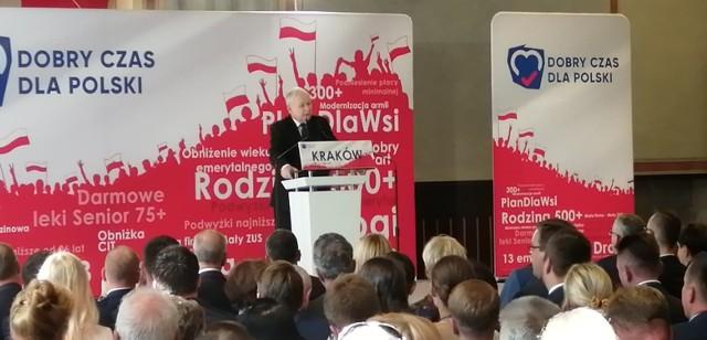 Konwencja wyborcza PiS w Krakowie