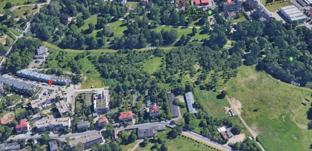 O taką część miał powiększyć się park Kleciński
