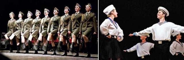 Występ Chóru Aleksandrowa to wielkie show.