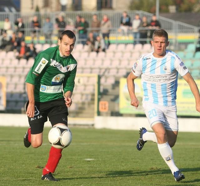 GKS Tychy pokonał Stomil i wydostał się ze strefy spadkowej