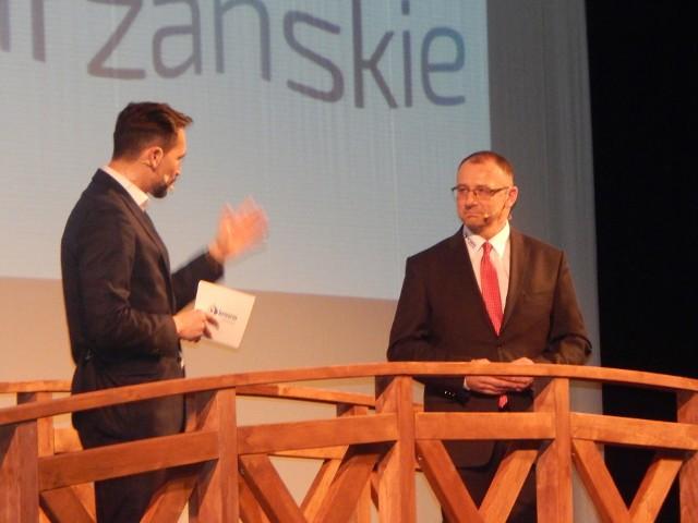 Burmistrz Marek Cebula przedstawił mieszkańcom plany w gminie Krosno Odrzańskie na 2017 rok.