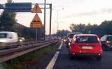 Potężne korki na węźle drogowym A4 i S1 w Mysłowicach. Kierowcy stoją w kilometrowych korkach