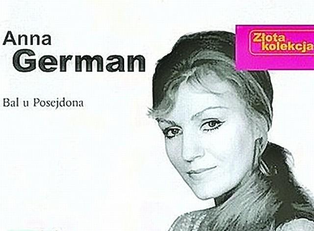 """Fragment okładki z albumu z przebojami Anny German """"Bal u Posejdona"""" (Pomaton), który w tym tygodniu uplasował się w pierwszej trójce najlepiej sprzedających się w Polsce płyt"""