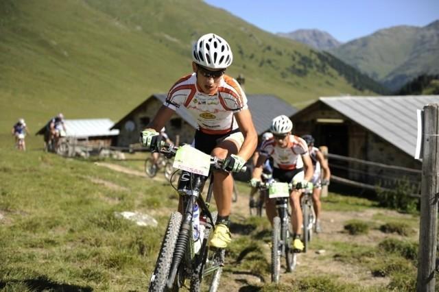 Marcin Piecuch szlifuje formę przed wyjazdem w Alpy.