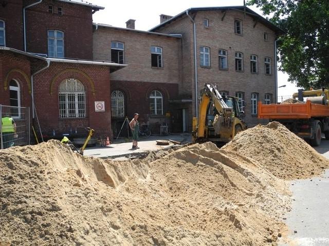 Remont dworca będzie kosztował pięć milionów złotych.